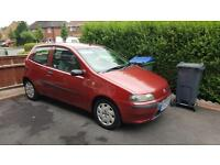 2003 Fiat Punto 1.2 Activ 12 months MOT. Cheap on fuel