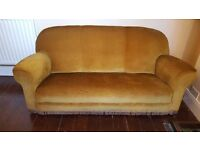 Beautiful 1920s Georgian suite sofa and two chairs - priced low for quick sale