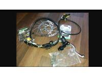 Full Hope Mono Mini disc brake set
