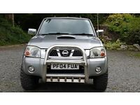 Nissan Nivara. With Nissan Terrano 2.7 engine in. Galvanised rear. Big wheels. Reversing camera.