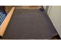 Grey Carpet approx 6ft x 8ft