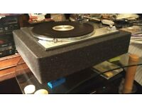 Lenco (Goldring) GL75 Heavy Platter Custon Refurbished Turntable: Chrome Edition
