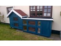 Extra large rabbit. Guinea Pig, Chicken, Ferret Hutch. Offers over £100