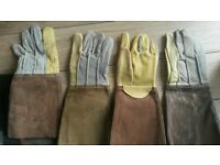 Welders gloves x2 pairs NEW