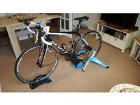 Tacx Booster Ultra High Power Folding Magnetic Trainer - As New!