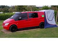 Camper Van or Day Van Brand New Conversion on a Mercedes Vito
