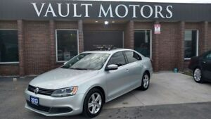 2013 Volkswagen Jetta Sunroof ALLOYS (WARRANTY INCLUDED)