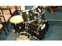 "DRUM KIT by CB DRUMS (SHELL PACK) 22"" BASS DRUM"