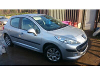 2008 Peugeot 207 1.4 Vti Full Years MOT
