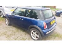 BMW MINI Parts Cooper/ONE R50 Breaking For Spare Parts. Engine Alloys Doors Wings Bumper