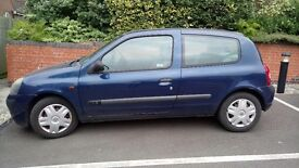 Renault Clio Authentique 2002 - 11 Months MOT