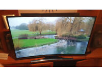 55inch Samsung Curved 4K Ultra HD Freeview HD Smart LED TV