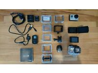 Gopro hero 3 Black with touch screen and remote