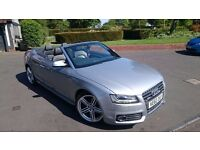 Audi A5 S Line Convertible Low Mileage Fully Loaded