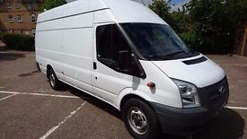 FORD TRANSIT XLWD JUMBO 125 T350 - NO VAT - RWD - LOW MILAGE -FULL SERVICE HISTORY-2.2 DIESEL EURO 5