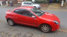 2001 red ford puma with long MOT