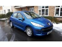 Peugeot 207 1.4 hdi.2008. New clutch kit, MOT - 11/11/2018. Tax- £30 p/year. Low insurance(group 3)
