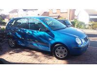 VW Polo 1.4S (AC) 5 Door. Metallic Blue