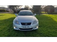 LEXUS IS 220D 2.2 SE-L LONG MOT TOP SPEC HPI CLEAR DRIVES EXCELLENT *3 MONTHS WARRANTY*