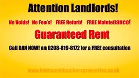 FREE Property Management & **We can guarantee your rent! **Professional Tenants Only!**