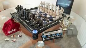 Very rare Harry Potter replica film chess board lights & sounds unique Christmas gift Jarrow