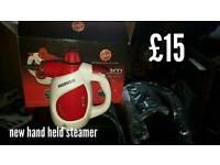 New Hand Held Steamer