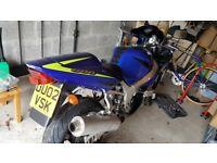 2002 Suzuki K2 gsxr 600 £1450 ono. Not honda yamaha triumph kawasaki