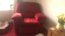 FREE! G.PLAN 3 seater sofa and matching armchair
