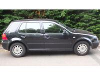 Volkswagen Golf 2002 Manual Petrol 1.6 For Sale