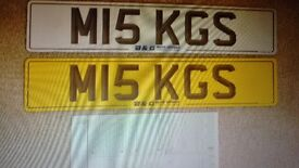 cherished plate , all paid up to DVLA with retention cert. & Number plates - ready to go