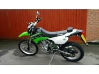 Kawasaki klx 250 sf trail enduro