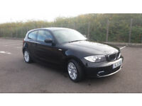 2011(61)BMW 118D ES BLACK,6 SPEED,BMWSH,£20 TAX,2 OWNER,LOVELY CAR,GREAT VALUE