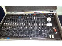 Peavey Unity 2000 16 channel mixer. £80