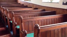 Chapel / Church Pews