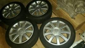 17 Audi a4 etc sline genuine alloy wheels