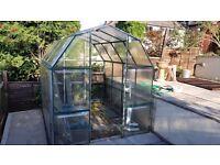 Green House Polycarbonate Aluminium. £50