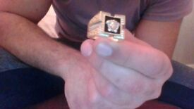 14ct 9 grams versace ring 450 0NO