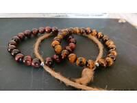 Healing bracelets, Beaded bracelets, tiger eye beads bracelets, handmade bracelets