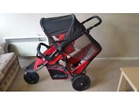 Double Buggy - HAUK - Very Good Condition - Multi-functional