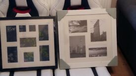 canvases and photo frames