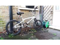 Silver bmx bicycle for sale