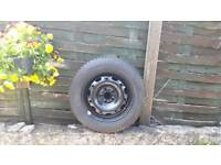Brand new Michelin tyre 165/70 r14 and wheel