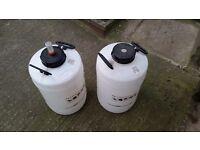 Brewing Equipment inc. Demi jons, bins & bottles
