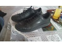 Puma black trainers size uk 7