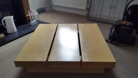 Free to collect. Square coffee table
