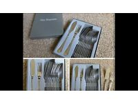 Fish cutlery set of 6 - Guy Degrenne