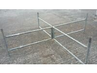SCAFFOLDING TOWER 15 FEET HIGH X 7 FT X 7FT GALVANISED STEEL