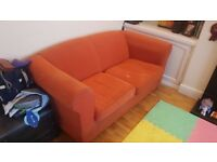 Burnt Orange Couch PUO