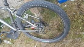 "Carrea 16""frame 26"" wheels"