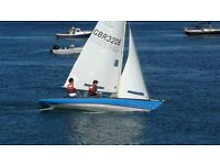 Sailing Yacht, Classic boat, flying 15 GRP , Lovely condition, with trailer